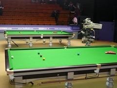 The View From Row B (zawtowers) Tags: world city up set championship king theatre mark sheffield balls rory tables championships 2009 snooker mcleod crucible worldsnookerchampionships worldsnookerchampionship betfredcom thehomeofsnooker