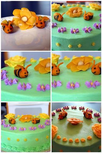 Bees Cake