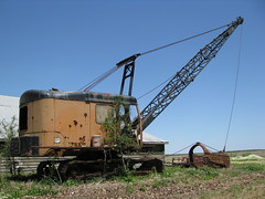 Northwest Dragline (dbro1206) Tags: abandoned rust mechanical northwest crane tracks rusty machinery forgotten arkansas resting booms dragline