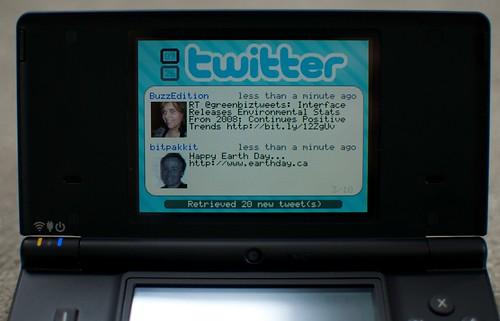 DS Twitter client