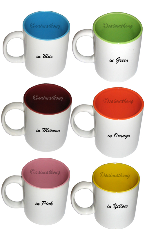 Customized / Personalized Color Ceramic Mug