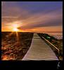 walk the line HDR (schoebs) Tags: cliff canon landscape eos evening sundown sigma 1020mm sylt hdr morsum 40d