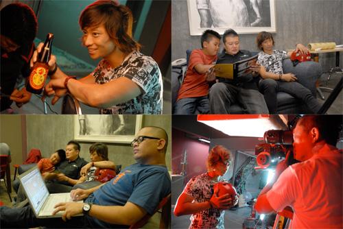 Muziklaban 2009 behind the scenes