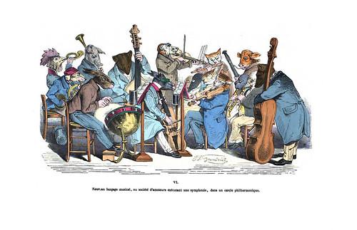 018-Les métamorphoses du jour (1869)-J.J Grandville