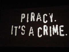 Piracy: it's a crime by liako, on Flickr