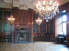Une belle salle tout en bois