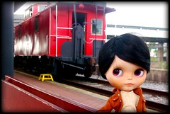 Letter from Angela (3/10) : A train station!