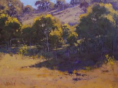 Plein Air landscape Australia (artsaus) Tags: blue mountains art beach landscape morninglight artist originalpainting sunsets australia victoria rivers impressionist oilpainting afternoonlight pleinair gumtrees beachdunes