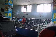 China - Internet Cafe () (eviltomthai) Tags: china  internetcafe