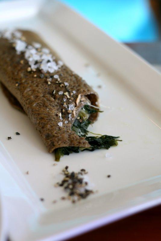 Buckwheat crepe
