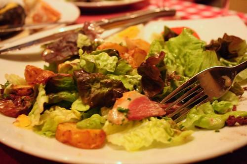 salade au canard