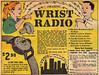 Vintage Ad #816: Amazing Wrist Radio