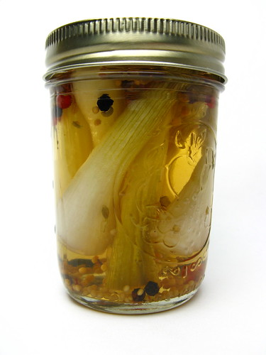 Pickled Spring Onions