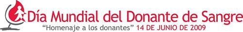 Día Mundial del Donante de Sangre 2009