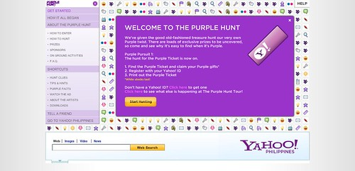 Yahoo Purple Hunt