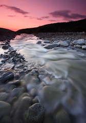 After Midnight (Wolfhorn) Tags: sunset nature alaska creek long exposure midnight after wilderness gk