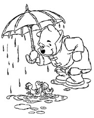 pooh-umbrella-ducklings