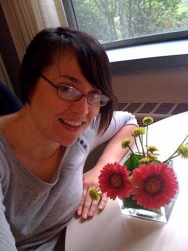 E & flowers