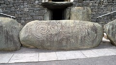 Entrance to the tombs at Newgrange