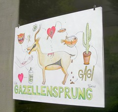 Gazellensprung (tm-tm) Tags: sign switzerland europe suisse luzern signage lucerne