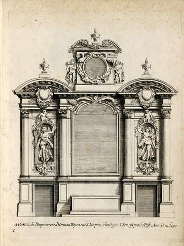 002a-Livre d'architecture d'autels, et de cheminees- Barbet Jean-1633- © Institut national d'histoire de l'art