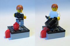 Dexter in Legos