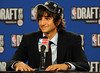 2009 NBA Draft - Ricky Rubio (noamgalai) Tags: nyc ny newyork basketball photo spain picture photograph msg 2009 draft צילום תמונה realmadrid pressconference juventud נועם noamg toppicks nbatv noamgalai נועםגלאי גלאי rickyrubio 2009nbadraft sitesports