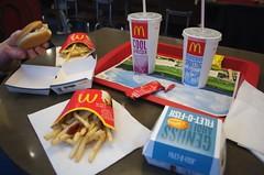 Essen im McDonalds