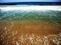 Love this one! (SurFeRGiRL30) Tags: ocean blue sea sky sun white green beach water beautiful sunshine newjersey sand waves underwater tan nj wave foam seethrough jerseyshore atlanticocean sonycybershot turqoise oceangrove