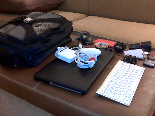 Laptop + peripherals