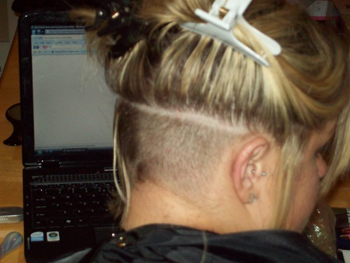 Picture of Undercut Hairstyle For Women