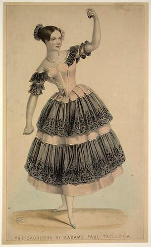 008- La cachucha por Madame Paul Taglioni 1840