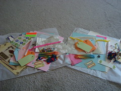 Journaling supplies Swap - sent