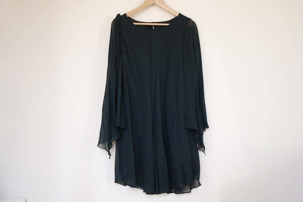 H&M chiffon party dress
