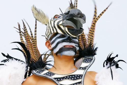 今年我們的主角裝扮的角色是斑馬