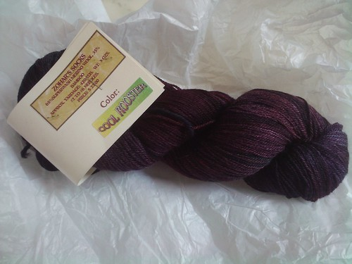 Zohar's socks yarn
