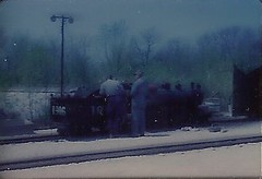 Milwaukee County Zoo 4-4-2 # 1916 (Summer 1965) (VilquinProductions) Tags: county railroad train vintage zoo milwaukee 1965