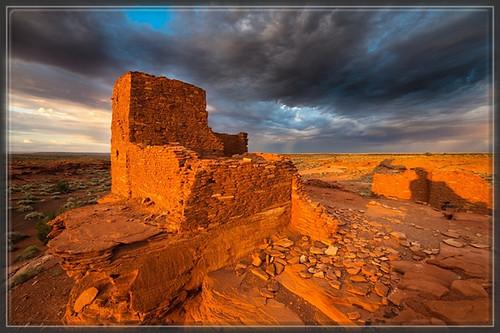 Wupatki,Pueblo,site archeologique,Arizona,Sinagua