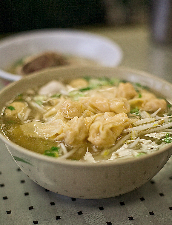 New Kamara Chinatown, Los Angeles - Wonton Noodle Soup