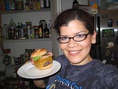 Deathburger (Katsushiro) Tags: bacon angus beef krispykreme donut cheddar deathburger katsushiro