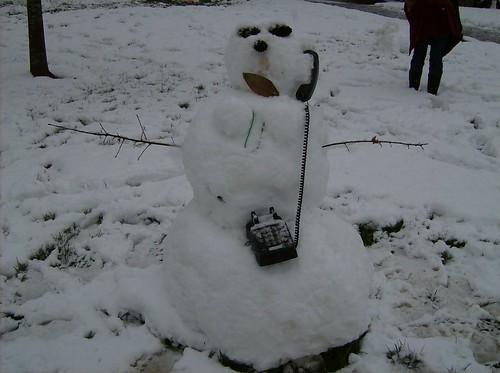 Talkative Snowwoman