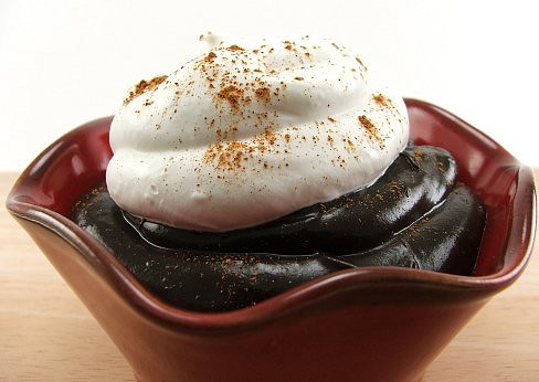 Spiced Dark Chocolate Pudding