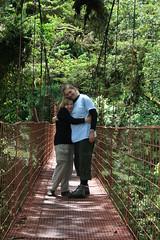 A Cuddle On A Bridge