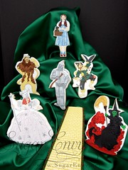 Wizard of Oz Decorated Cookies (Sugar Envy) Tags: road west brick cookies yellow dorothy witch oz wizard scarecrow lion competition sugar wicked poppies iced envy custom tinman favors glenda decorated cowardly sugarenvycookies sugarenvy