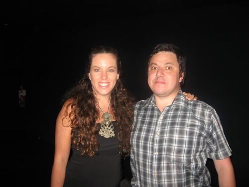 Claudia Llosa con Javier Fernandez