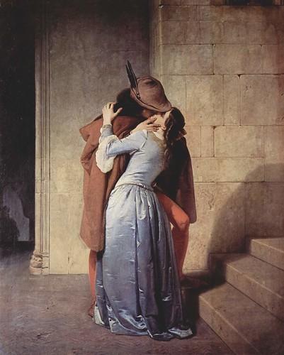 Francesco Hayez - The Kiss by you.