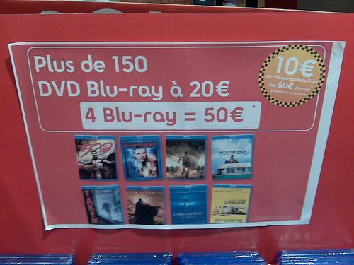 Promotions pour les Bluray à la FNAC