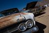 Cold Comet (codywbratt) Tags: california lightpainting cars abandoned night digital canon lost rusting junkyard 2009 decaying pearsonville