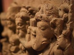 Lord Ganesha with the three Mother Goddess (Anish Palekar) Tags: india statue ganesha denverartmuseum lord denver ganesh hindu hinduism carvings