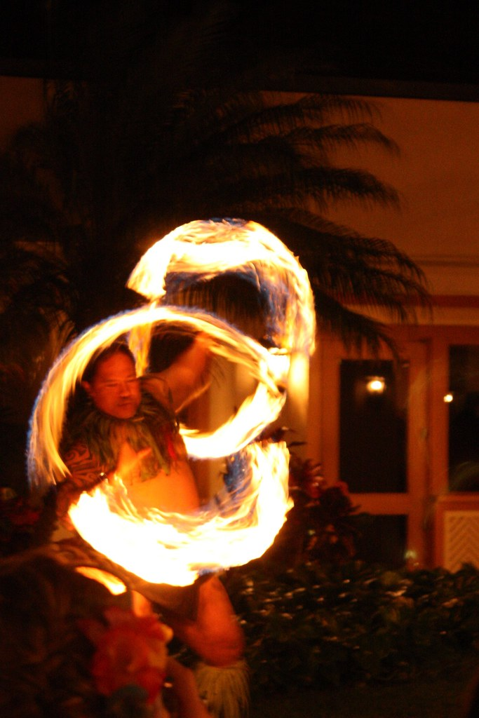Luau Fire Dancer